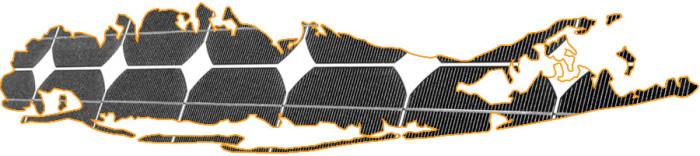 long island solar map, Suffolk and Nassau County