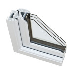 increase energy efficiency by installing double paned windows