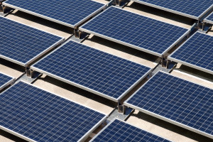 strong solar incentives allows for commercial installation